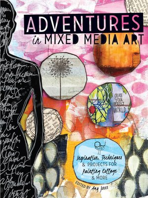 cover image of Adventures in Mixed Media Art