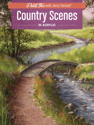 cover image of Country Scenes in Acrylic