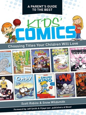 cover image of A Parent's Guide to the Best Kids' Comics