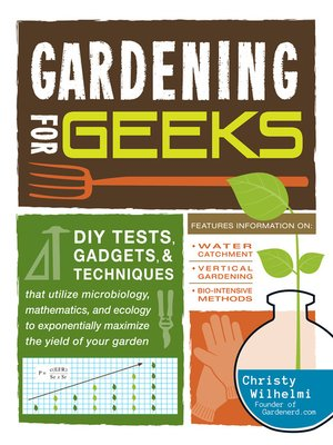 cover image of Gardening for Geeks