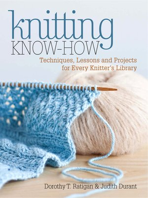 cover image of Knitting Know-How