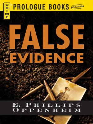 cover image of False Evidence
