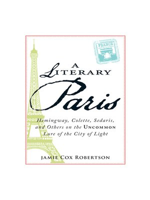 cover image of A Literary Paris