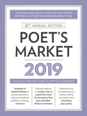 cover image of Poet's Market 2019