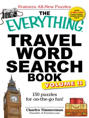 cover image of Travel Word Search Book, Volume II