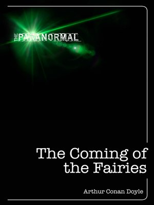 cover image of The Coming of the Fairies
