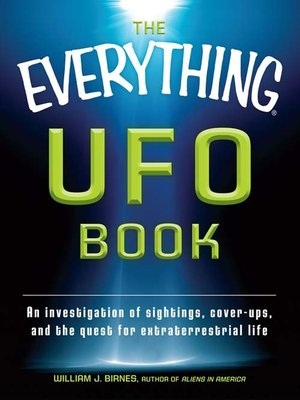 cover image of The Everything UFO Book