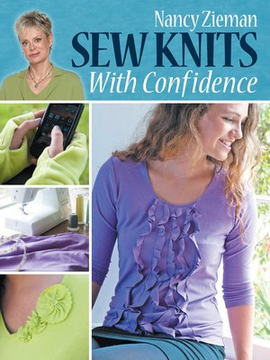 cover image of Sew Knits with Confidence