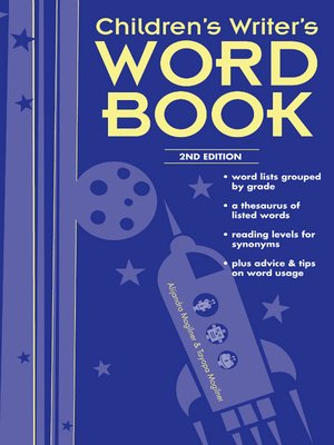 Children's Writer's Word Book by Alijandra Mogilner