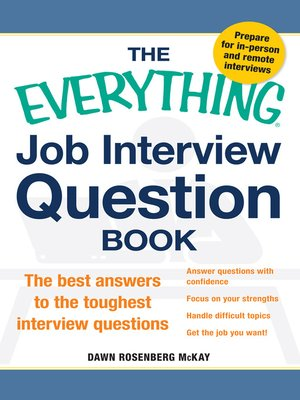 the everything job interview question book - Librarian Interview Questions For Librarians With Answers