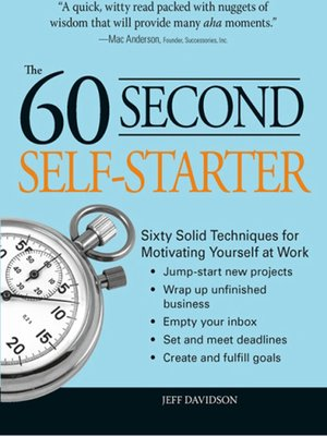 cover image of 60 Second Self-Starter
