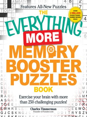 cover image of More Memory Booster Puzzles Book