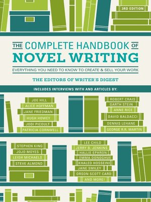 Title details for The Complete Handbook of Novel Writing by Writer's Digest Editors - Wait list