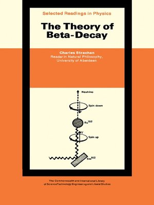 cover image of The Theory of Beta-Decay