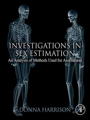 cover image of Investigations in Sex Estimation