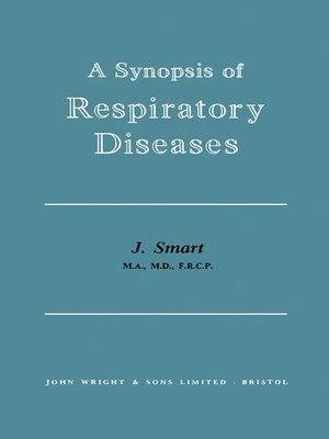 cover image of A Synopsis of Respiratory Diseases