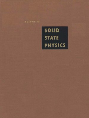 Advances in Solid State Physics - Free eBooks Download
