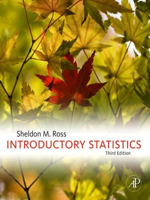 cover image of Introductory Statistics