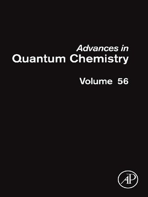 cover image of Advances in Quantum Chemistry