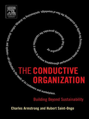 cover image of The Conductive Organization