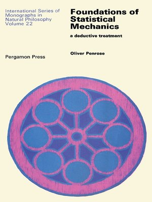 cover image of Foundations of Statistical Mechanics