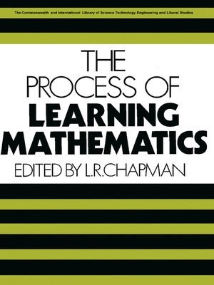 cover image of The Process of Learning Mathematics