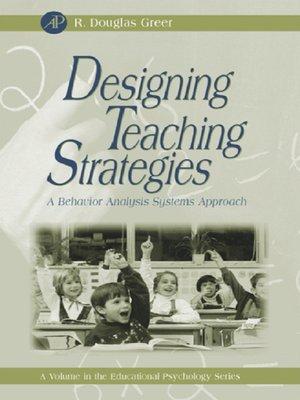 cover image of Designing Teaching Strategies