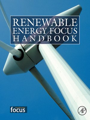 cover image of Renewable Energy Focus e-Mega Handbook