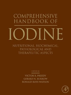 cover image of Comprehensive Handbook of Iodine