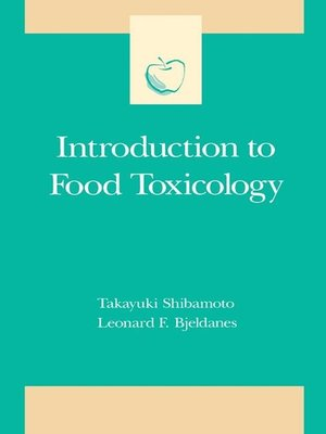 cover image of Introduction to Food Toxicology