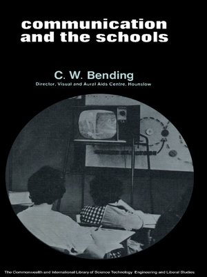 cover image of Communication and the Schools