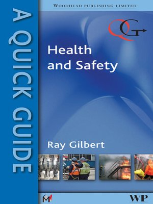 cover image of A Quick Guide to Health and Safety