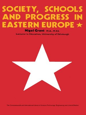 cover image of Society, Schools and Progress in Eastern Europe
