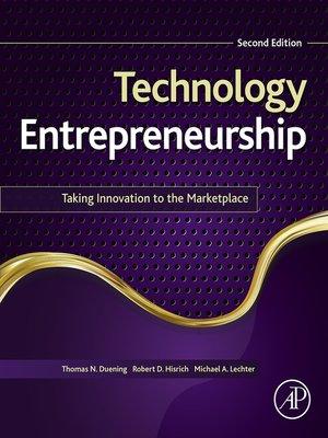 cover image of Technology Entrepreneurship
