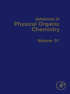 cover image of Advances in Physical Organic Chemistry