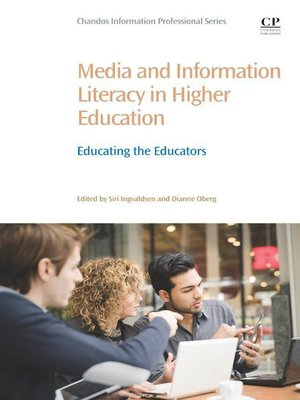 cover image of Media and Information Literacy in Higher Education