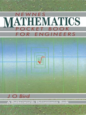 cover image of Newnes Mathematics Pocket Book for Engineers