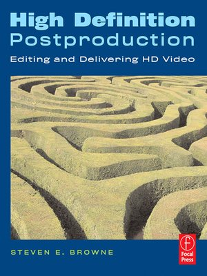 cover image of High Definition Postproduction
