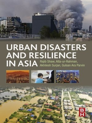 cover image of Urban Disasters and Resilience in Asia