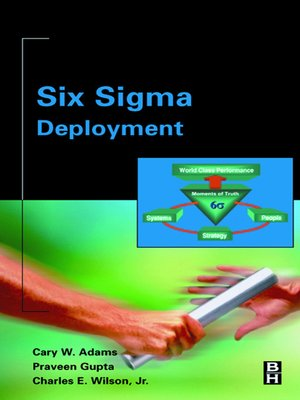 cover image of Six Sigma Deployment