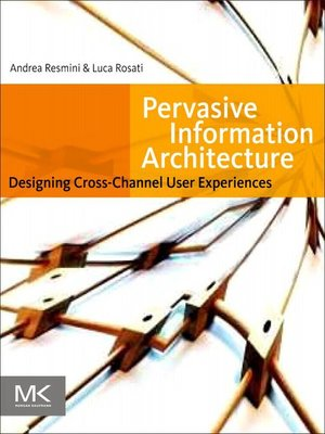 cover image of Pervasive Information Architecture