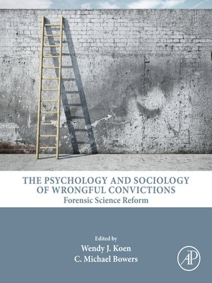 cover image of The Psychology and Sociology of Wrongful Convictions