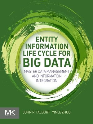 cover image of Entity Information Life Cycle for Big Data
