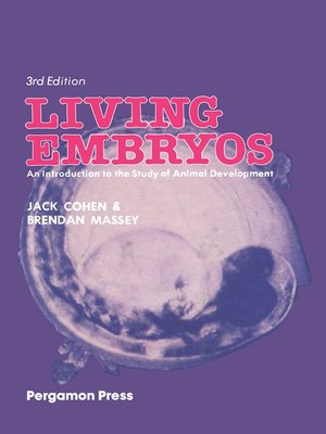 cover image of Living Embryos