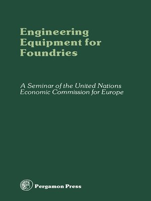 cover image of Engineering Equipment for Foundries