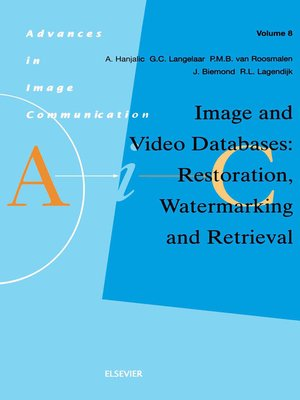 cover image of Image and Video Databases