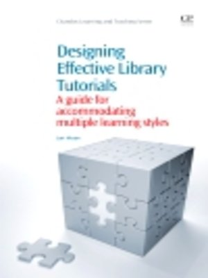 cover image of Designing Effective Library Tutorials