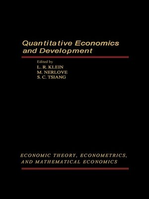 cover image of Quantitative Economics and Development