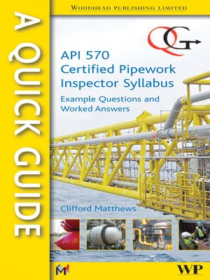 Api rp 577 welding inspection and metallurgy