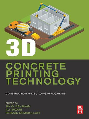 cover image of 3D Concrete Printing Technology